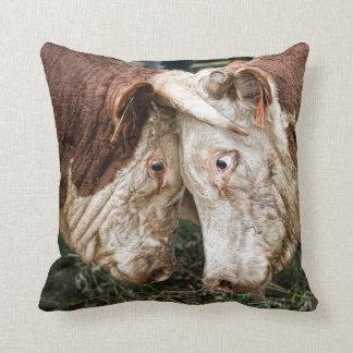 That ain't no bull throw pillow