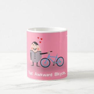 That Awkward Bicycle Coffee Mug