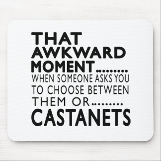 That Awkward Moment Castanets Designs Mouse Pad