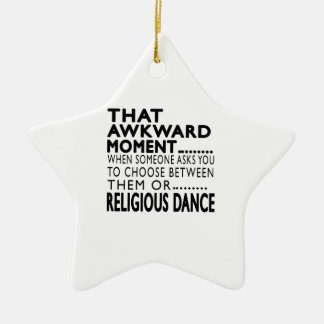 That Awkward Moment Religious Designs Christmas Tree Ornaments