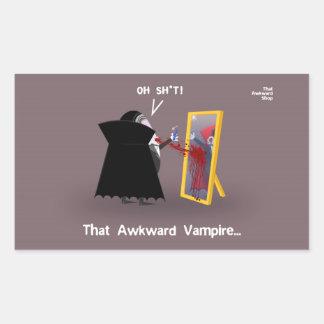 That Awkward Vampire Sticker