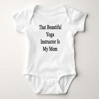 That Beautiful Yoga Instructor Is My Mom Baby Bodysuit