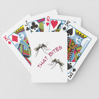 That Bites Bicycle Playing Cards