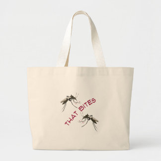 That Bites Large Tote Bag