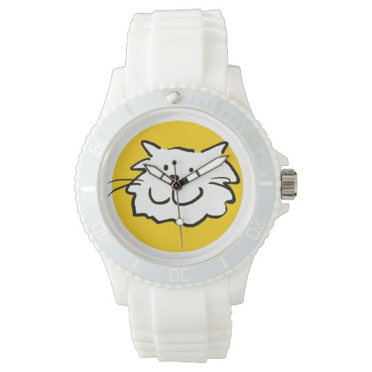 That cat - is smiling wristwatches