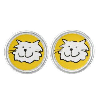 That Cat - smiling Cufflinks