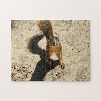 That Crazy Squirrel Jigsaw Puzzle