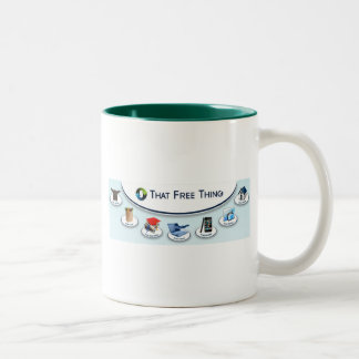 That Free Thing Two-Tone Mug