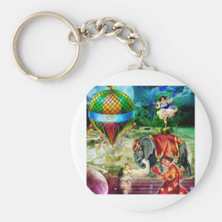 THAT GRAND CIRCUS IN THE SKY BASIC ROUND BUTTON KEYCHAIN