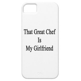 That Great Chef Is My Girlfriend iPhone 5/5S Cases