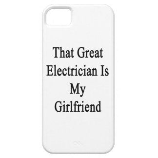 That Great Electrician Is My Girlfriend iPhone 5 Case