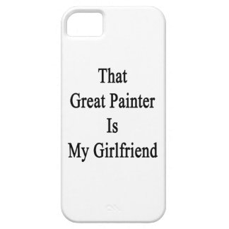 That Great Painter Is My Girlfriend iPhone 5 Cover