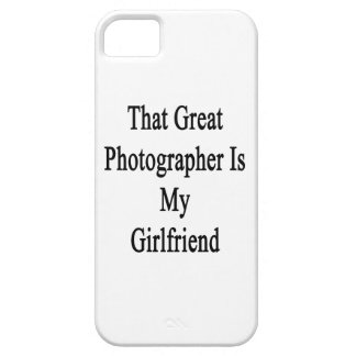 That Great Photographer Is My Girlfriend iPhone 5 Cover