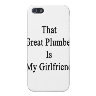 That Great Plumber Is My Girlfriend iPhone 5/5S Covers