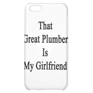 That Great Plumber Is My Girlfriend Cover For iPhone 5C