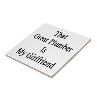 That Great Plumber Is My Girlfriend Tile