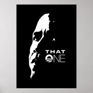 That One - Barack Obama POSTER