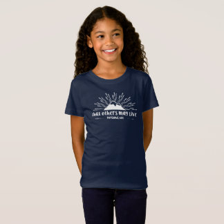 """that others may live"" girls tee"