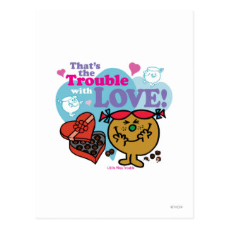 That s the Trouble with Love Postcard