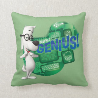 That Was Genius Throw Pillow