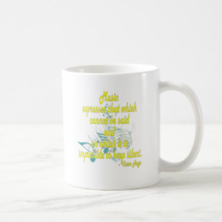 That Which Cannot Be Said Coffee Mug