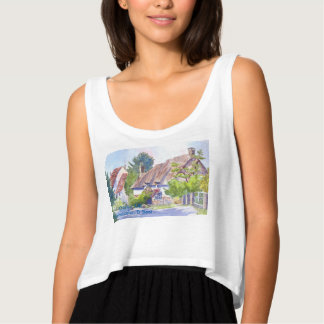 Thatched Cottage Tank Top
