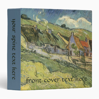 Thatched Cottages by Vincent van Gogh Binders