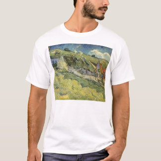 Thatched Cottages by Vincent van Gogh T-Shirt