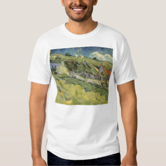Thatched Cottages by Vincent van Gogh Tees