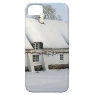 Thatched English Cottage in Snow Case For The iPhone 5