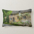 Thatched Roof home Lumbar Pillow