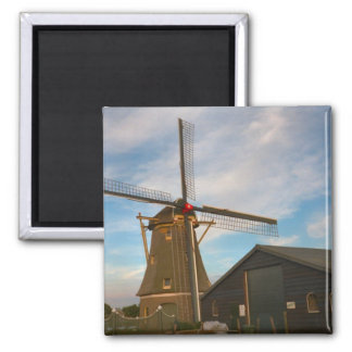 Thatched windmill in south Holland Magnet
