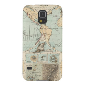 Thatigkeit des Erdinnern Atlas Map Galaxy S5 Cases