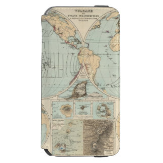 Thatigkeit des Erdinnern Atlas Map Incipio Watson™ iPhone 6 Wallet Case
