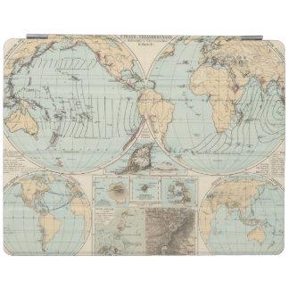 Thatigkeit des Erdinnern Atlas Map iPad Cover