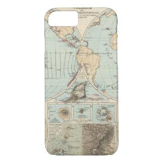 Thatigkeit des Erdinnern Atlas Map iPhone 7 Case