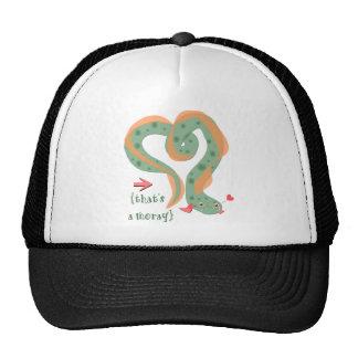 """That's A Moray"" Love Pun Eel Trucker Hat"