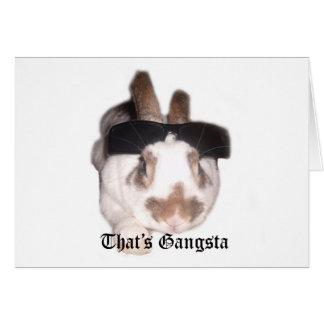 That's Gangsta Card