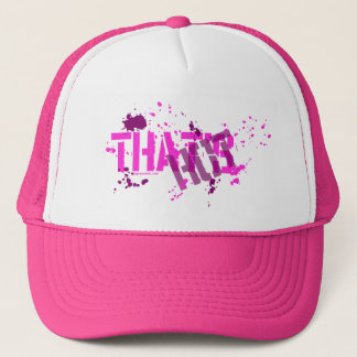 That's Hot Pink Truckers Hat, Mesh Hat