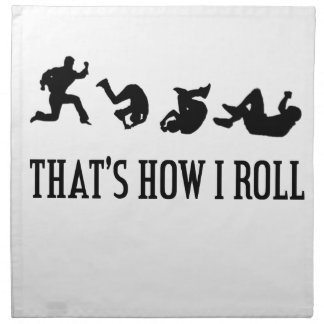 That's How I Roll.png Napkin