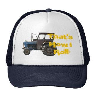 That's How I Roll Tractor Cap Trucker Hat