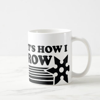 That's How I Throw Coffee Mug