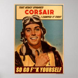 Thats my corsair! poster