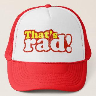 That's Rad Trucker Hat