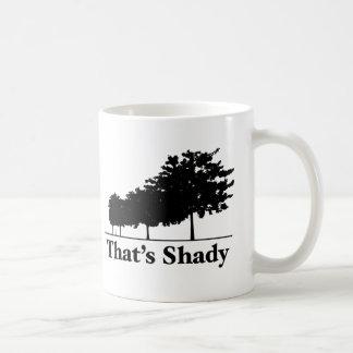 That's Shady Basic White Mug
