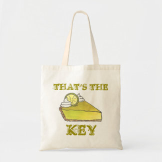 That's the Key Key Lime Pie Tote Bag
