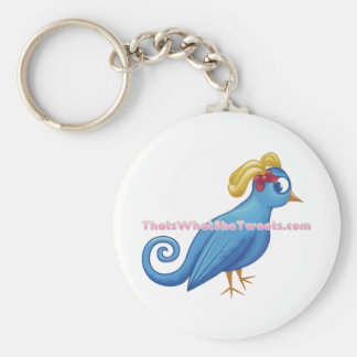 That's What She Tweets Key Chain