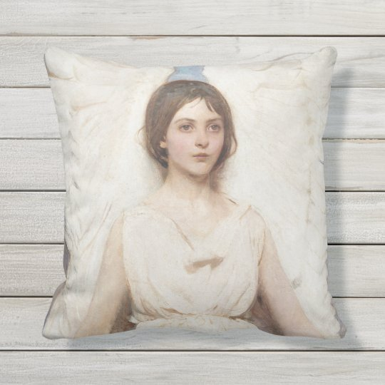 Thayer's Angel throw pillow