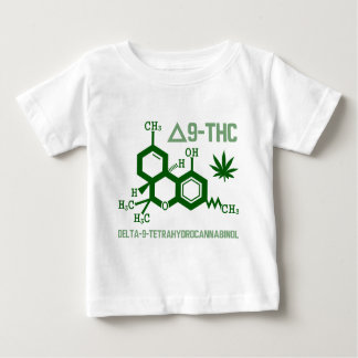THC - weed/420/marijuana/hemp/cannabis/legalize Baby T-Shirt