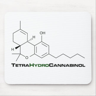 THC Weed Mouse Pad